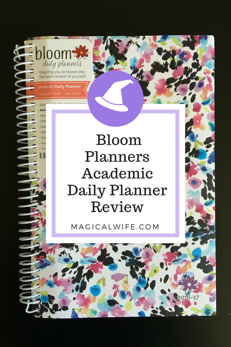 2017 bloom daily planner review the magical wife home erin