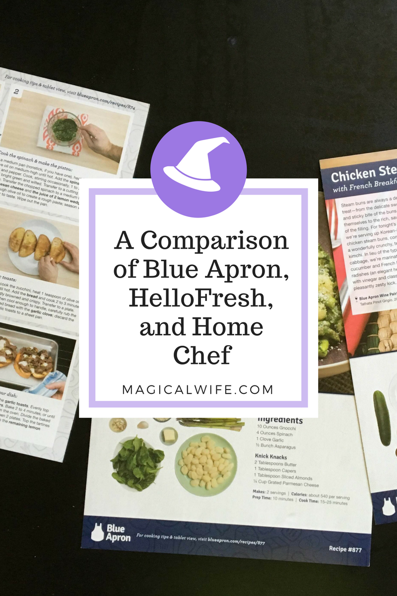 Blue apron menu last week