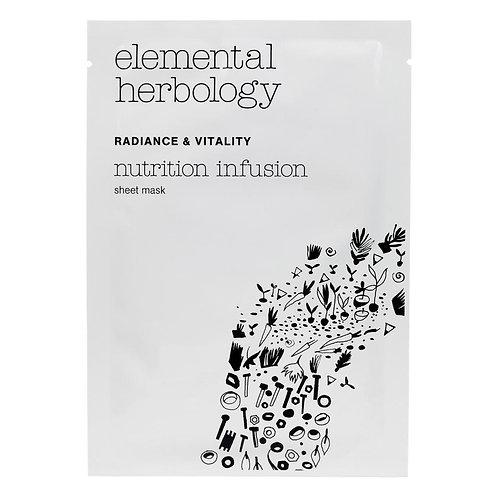 Elemental Herbology Nutrition Infusion Sheet Mask