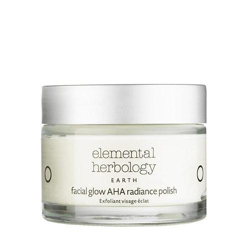 Elemental Herbology Facial Glow AHA Radiance Polish, 50ml