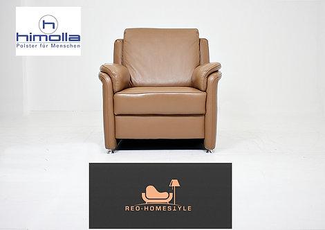 Himolla Designer Sessel Sofa Couch Leder Dickleder