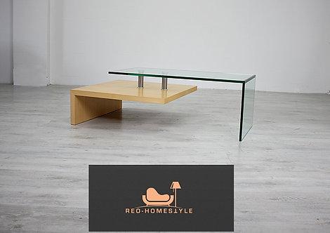 Designer Holz Tisch Besitelltisch Glas Holz Modern Sofa Couch !