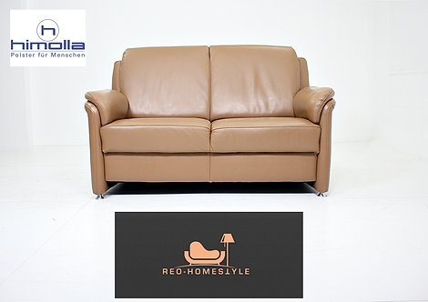 Himolla Designer Zweisitzer Sofa Couch Leder Dickleder Wohnzimmer