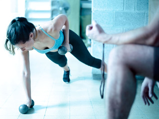 Burn serious calories with circuit training
