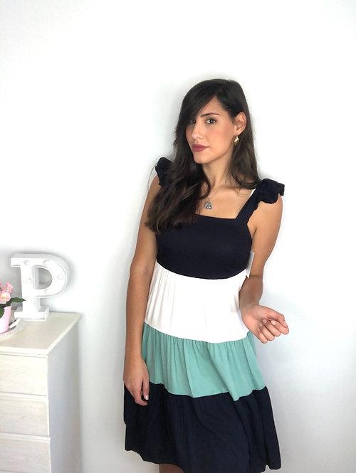 Vestido Melania colores