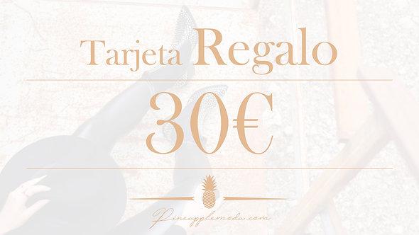 Tarjeta Reagalo 30€