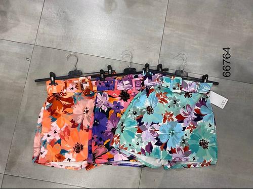 Falda cinturón flores
