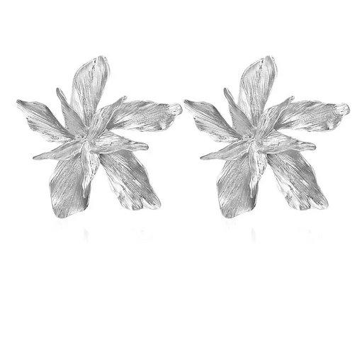 Pendientes flor