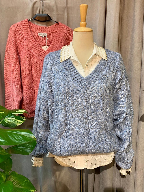 Jersey pico lana