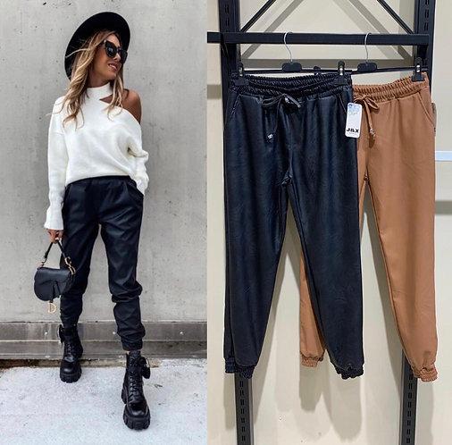 Pantalones joggins encerados