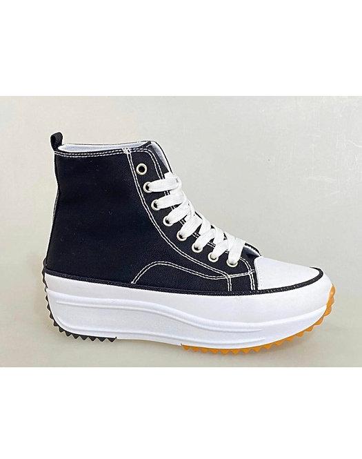 Zapatillas plataforma Black