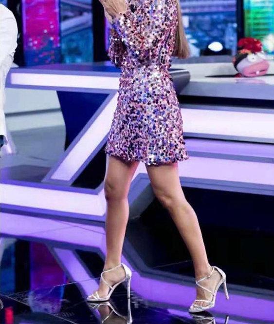 Vestido Paula lentejuelas