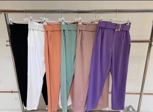 Pantalon cinturon nuevos colores