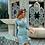Thumbnail: Vestido fruncido satinado