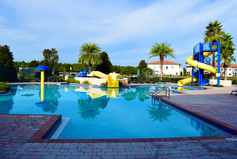 Resort fun pool