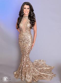 Kristi Gold Dress