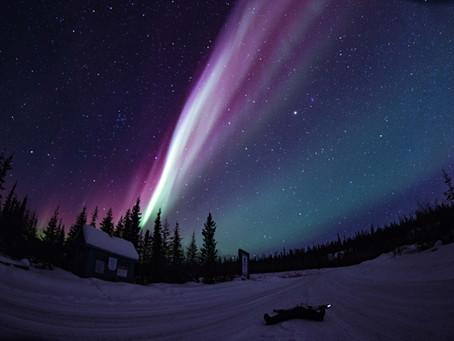 極光漫天飛舞終於得見 The flashing dancing polar lights