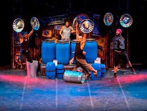 STOMP首演之夜為澳門威尼斯人觀眾帶來集敲擊樂、舞蹈及音樂劇於一身的精彩表演