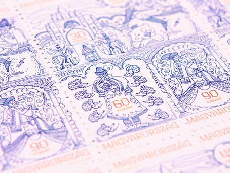 童話活在郵票中 A Fairytale living in stamp
