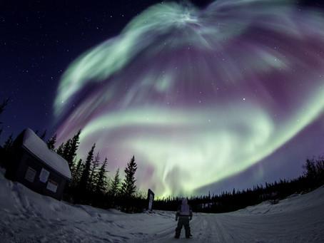 The Flashing Dancing Polar Lights