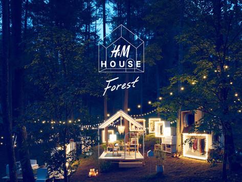 H&M 為你打造與眾不同的森林購物之旅