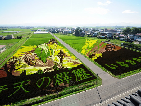 接觸大自然的藝術 —日本東北田園展 The Art Of Nature In Aomori, Japan