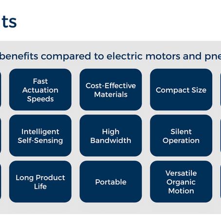 Artimus 101: Benefits of HASEL actuators   Artimus Robotics Introduction to HASEL actuators