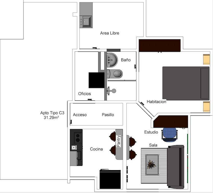 Apartamento Tipo C