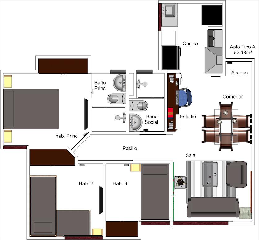 Apartamento Tipo A