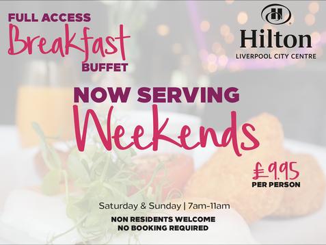 Breakfast at Weekends - Hilton