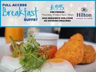 Breakfast - Hilton