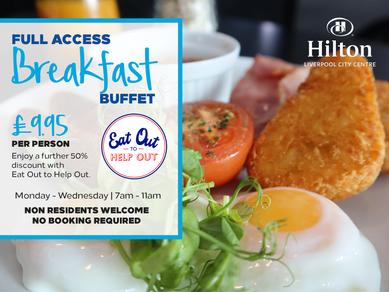 Breakfast is here - Hilton