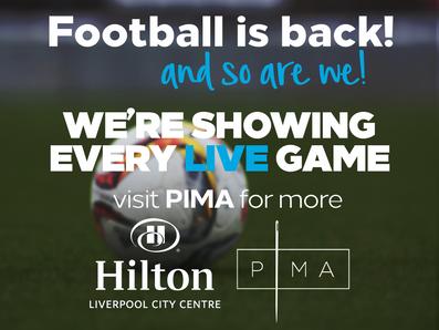 Football is Back Landscapes at Hilton