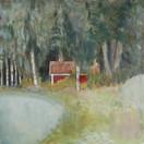 """I See a Lot"" Kirsti Aasheim/ acrylic on mdf/ 30x30 cm"