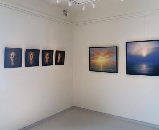 Harald Kolderup/ Paintings/ Drøbak Kunstforening