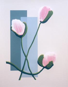 """Transient Pleasure"" (red variant) Kirsti Aasheim/ Screenprinting/ 42x32,5 cm"