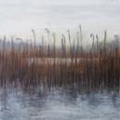 """Early Morning Rain""  Kirsti Aasheim/ acrylic on mdf/ 30x30 cm"