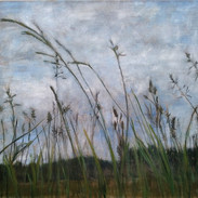 """Taking A Deep Breath"" Kirsti Aasheim/ painting/ 67x67cm"
