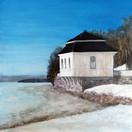 """As Beautiful As Ever""  Kirsti Aasheim/ acrylic on mdf/ 30x30 cm"