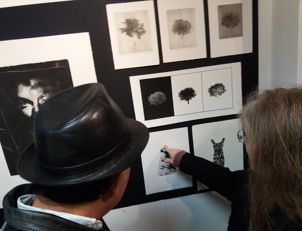 Galleri Schaffersgate 5/ artworks by Kirsti Aasheim