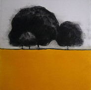 """""""Waiting For The Sun"""" Kirsti Aasheim /etching/ 26x31 cm"""
