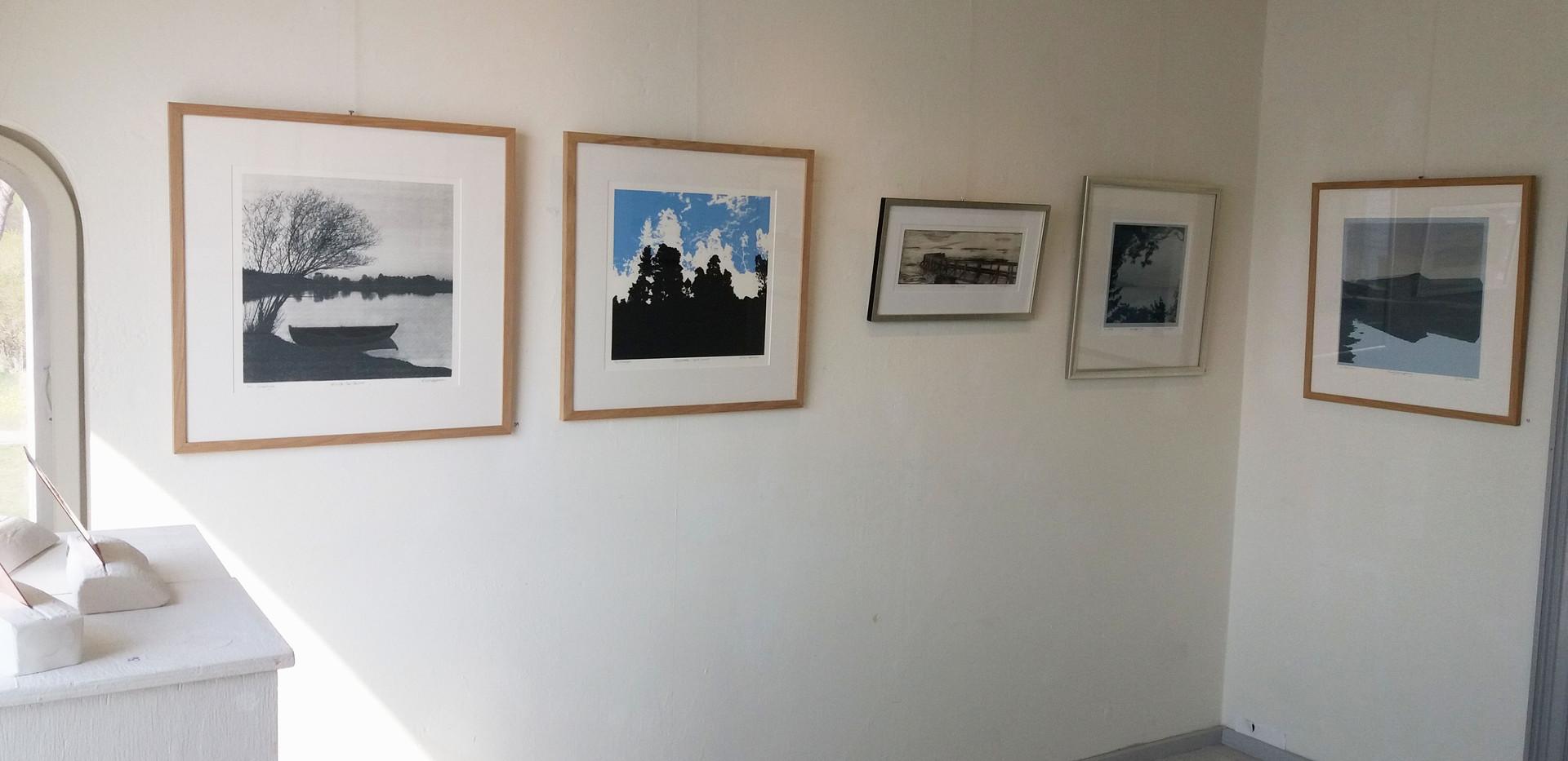 Kirsti Aasheim/ Screenprinting/ Drøbak Kunstforening