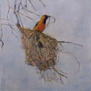 """Prepare"" Kirsti Aasheim/ painting/ 50x50 cm"