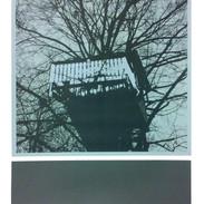 """""""Feels like home"""" Kirsti Aasheim/ Screenprinting/ 51x40 cm"""