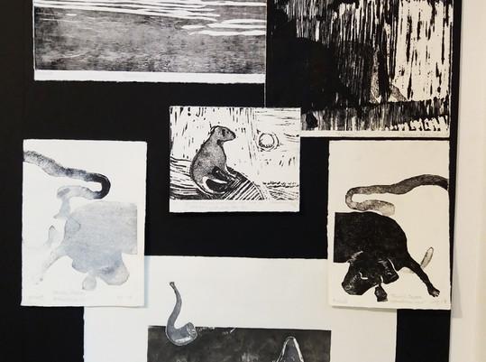 Galleri Schaffersgate 5/ artwork by Marianne Gihle