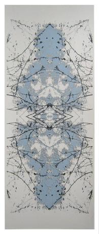 """Connected 2"" Kirsti Aasheim/ Screenprinting/ 58x25 cm"