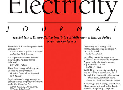 Study Released by The Electricity Journal on The Pay As You Save Program