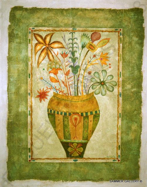 El jarrón verde 146x114