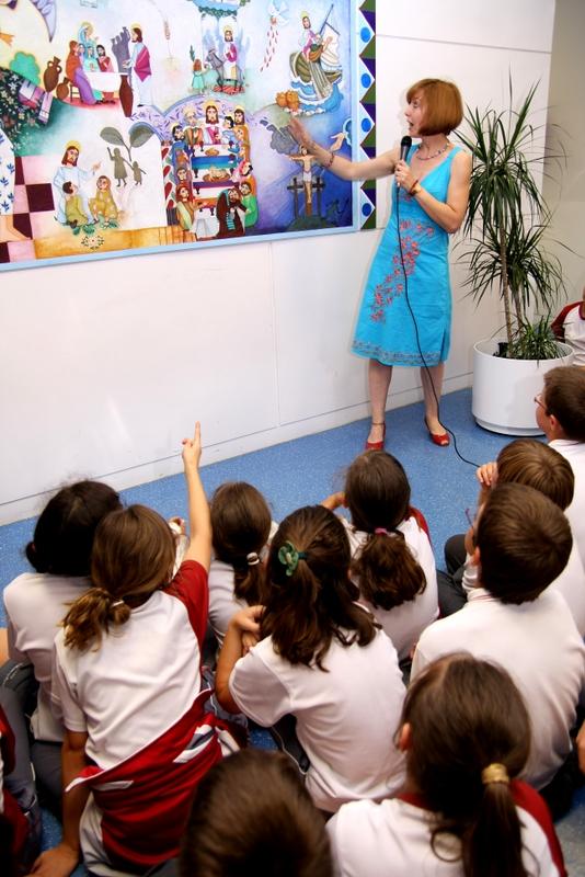 presentación mural Sta. Mª La Blanca