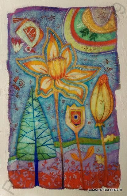 Lloviendo primaveras 85x54,5 aracely
